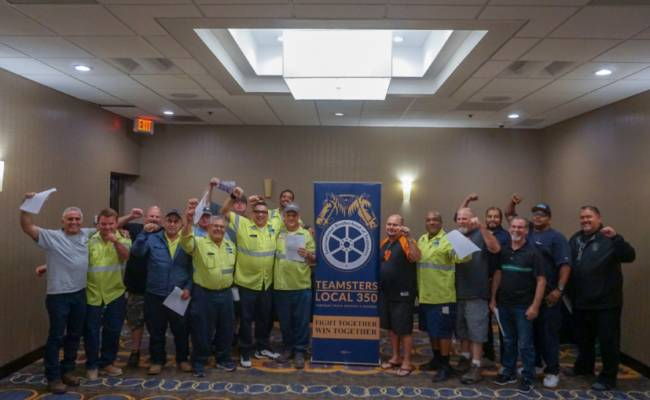 South Bay Recycling Semi-Drivers Unit Approve New Contract!