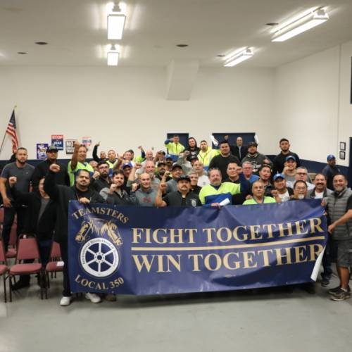 Allied Waste Services of Santa Clara vote 100% Yes on new deal