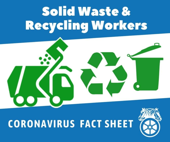 Solid Waste & Recycling COVID-19 Fact Sheet