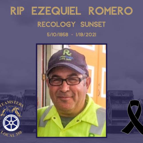 RIP Brother Ezequiel Romero